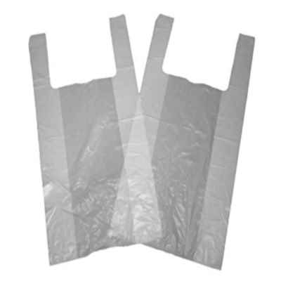 GALAXY JUMBO HT WHITE CARRIER BAGS