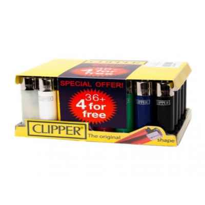 CLIPPER CLASSIC LARGE LIGHTERS 36+4
