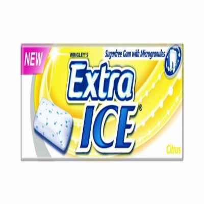 WRIGLEY EXTRA ICE CITRUS 10PCS X 30