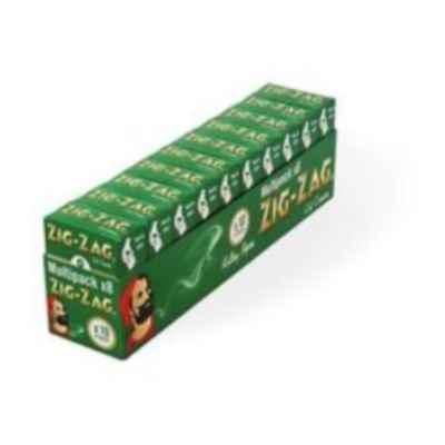 ZIG ZAG GREEN STD MULTIPACK 8S X 10