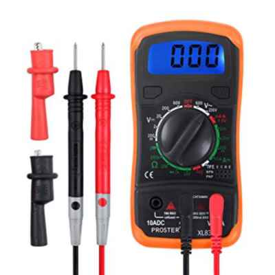 MAINS TESTER MEASURES AC & DC VOLTAGE