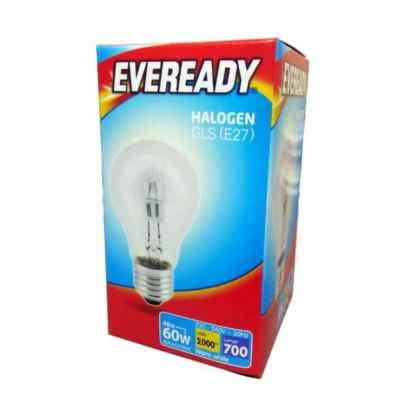 BULB ECO HALOGEN GLS 48W (60W) E27 / ES CLEAR