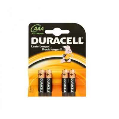 DURACELL AAA - MN2400 BASE 4 PACK