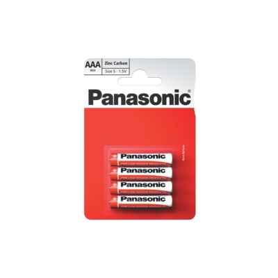 PANASONIC ZINC AAA - R03 4 PACK