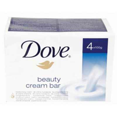 DOVE SOAP REGULAR 100G 4PK
