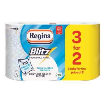 REGINA BLITZ 3 FOR 2 ROLL K/T X 4