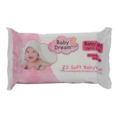 BABY DREAM THICK BABY WIPES 72S ORIG X 12
