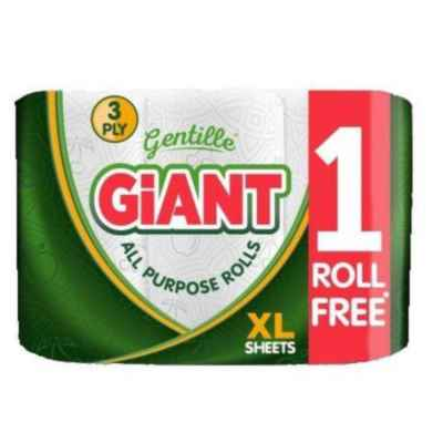 GENTILLE GIANT 3PK XL KITCHEN TOWEL X 6