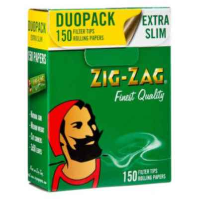 ZIG ZAG DUO PACK 150 PAPER + 150 FILTERS