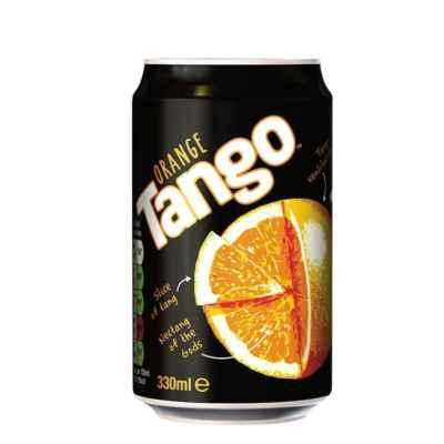 TANGO ORANGE CANS 330ML X 24