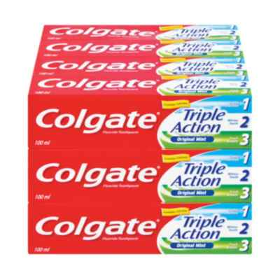 COLGATE TRIPLE ACTION 100ML x 12