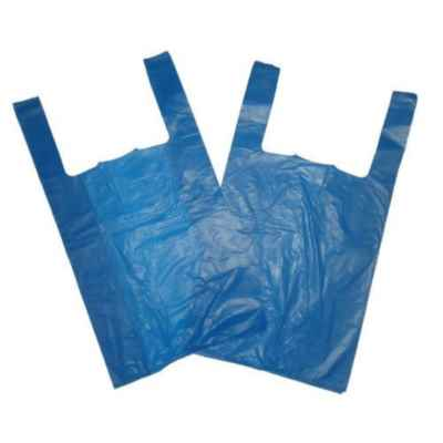ALDER LARGE BLUE CARRIER BAGS 23mu 800S