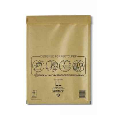 MAIL LITE PADDED ENVELOPE L/L GOLD X 50