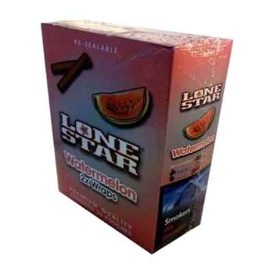LONESTAR BLUNTS WATERMELON 2S X 25