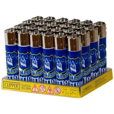 CLIPPER EVERTON FOOTBALL CLUB  LIGHTER 24S