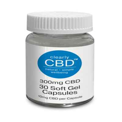 CLEARLY CBD 300MG SOFT GEL CAPSULES 30'S (RRP