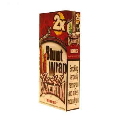 PLATINUM BLUNTS BERRIES SILVER 2S X 25