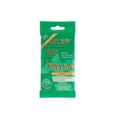 RIZLA GREEN STD FLOW PACK 5S X 60