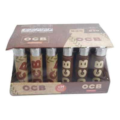 OCB REFILLABLE LIGHTERS 24S