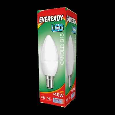 EVEREADY LED CANDLE 5.2W B15 DAYLIGHT