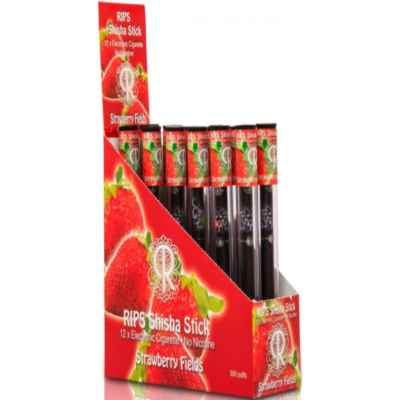 RIPS ELEC SHISHA STICK STRAWBERRY FIELDS