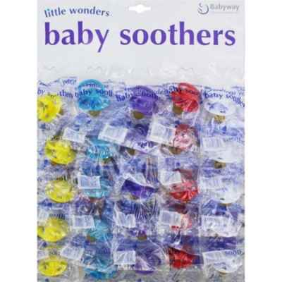 LITTLE WONDERS CARDED SOOTHERS X 25