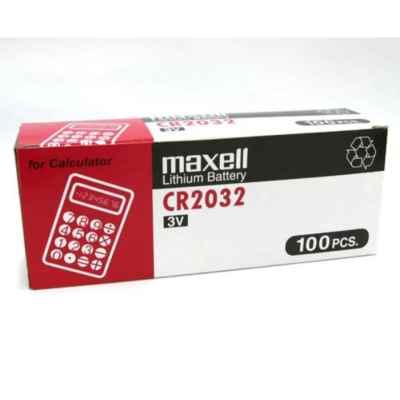 MAXELL LITHIUM CR2032 3V 1 PACK