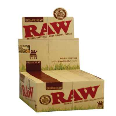 RAW ORGANIC KING SIZE SLIM 50S