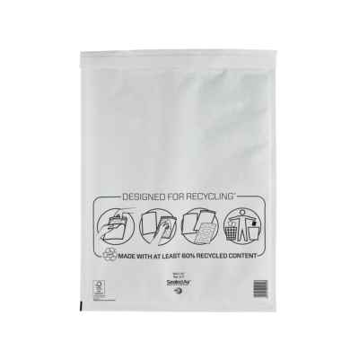 MAIL LITE  K/7 WHITE PADDED ENVELOPE (350x470