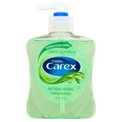 CAREX HAND WASH ALOE VERA 250ML X 6