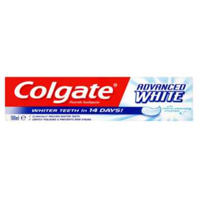 COLGATE ADVANCED WHITENING 100ML X 12