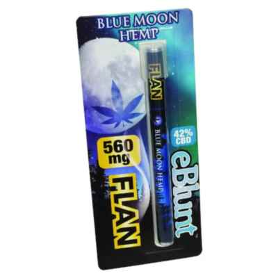 BLUE MOON HEMP CBD - E-BLUNT FLAN 560MG