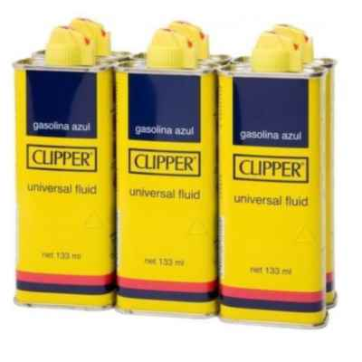 CLIPPER LIGHTER FLUID 100ML 6 PACK