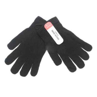 MAGIC GLOVES BLACK ONE SIZE PACK OF 12