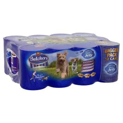 BUTCHERS DOG FOOD LOAF IN JELLY 400G X 12 X 2