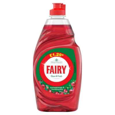 FAIRY LIQUID POM&HON PMP ?1.29 433ML X 10