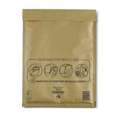 MAIL LITE PADDED ENVELOPE G/4 GOLD X 50