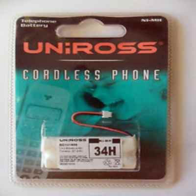 UNIROSS 34H CORDLESS PHONE BATTERY