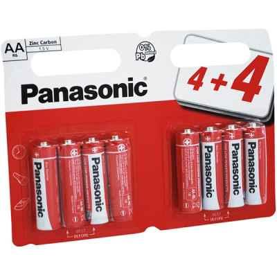 PANASONIC ZINC AA - R6 8 PACK