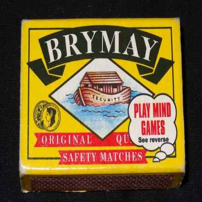 SAFETY MATCHES 100S