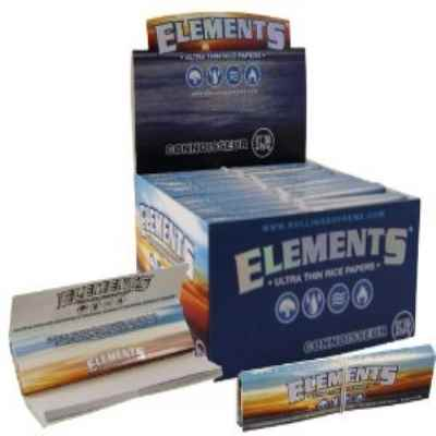 ELEMENTS ULTRA THIN KING SIZE CONNOISSEUR 24S