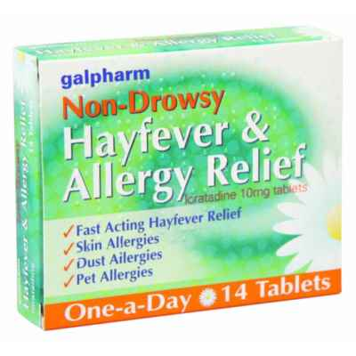 HAYFEVER RELIEF (NON DROWSY) TABS 7S X 10
