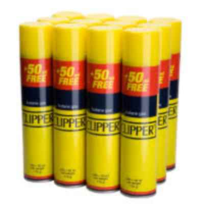 CLIPPER GAS LIGHTER REFILL 300ML X 12
