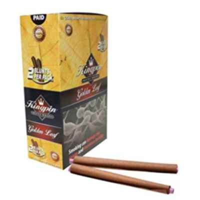 KINGPIN BLUNTS GOLDEN LEAF  2S X 25