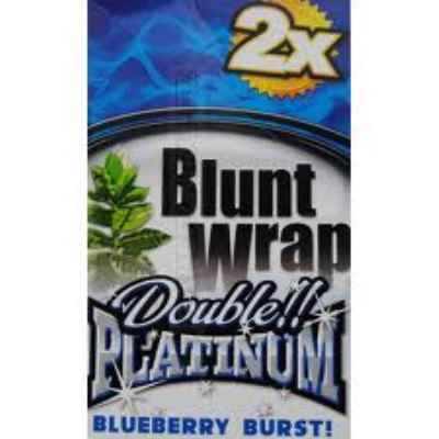 PLATINUM BLUNTS BLUEBERRY BLUE 2S X 25
