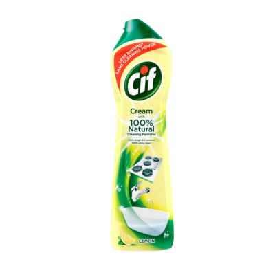 CIF CREAM LEMON 500ML X 8