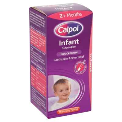 CALPOL INFANT ORIGINAL 100ML X 6