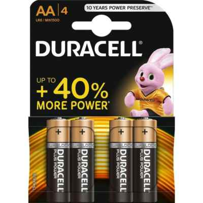 DURACELL AA - MN1500 BASE 4 PACK