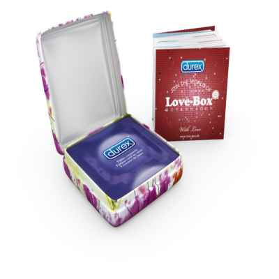 DUREX LOVE BOX PLEASURE 3PK X 8