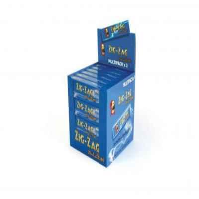 ZIG ZAG BLUE K/S MULTIPACK 3S X 24
